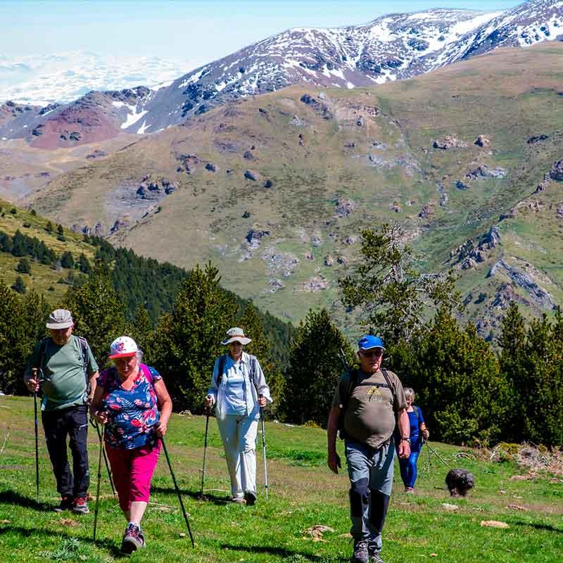 Senderismo, Vall de Ribes