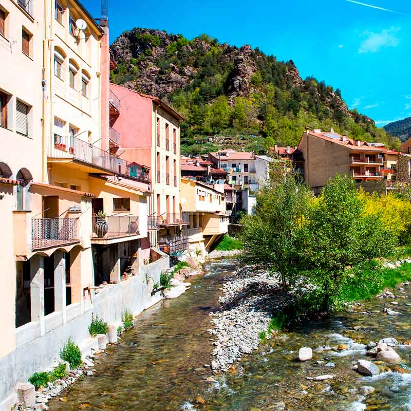 Ribes de Freser, Vall de Ribes
