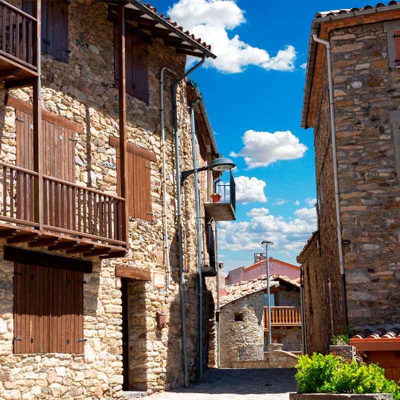 Pueblo de Campelles, Vall de Ribes