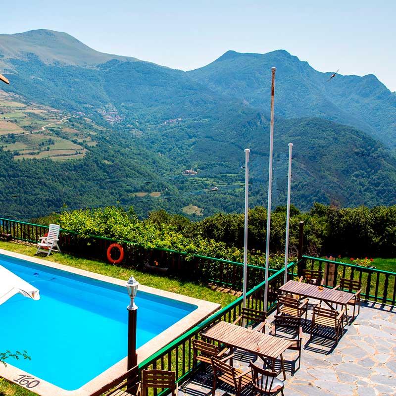 Hotel Terralta, El Baell (Campelles), Vall de Ribes